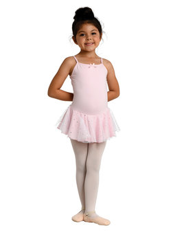 Danshuz Danznmotion Glitter Skirted Cami Leotard 259