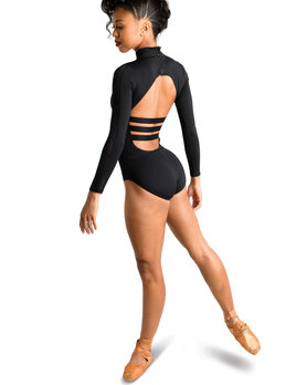 Danshuz Danznmotion Long Sleeve Mesh Block Leo 19125