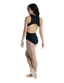 Danshuz Danznmotion Side Cut-Out Mock Leotard 20116