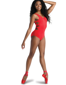 Danshuz Danznmotion Tank Side Bow Leotard 20104
