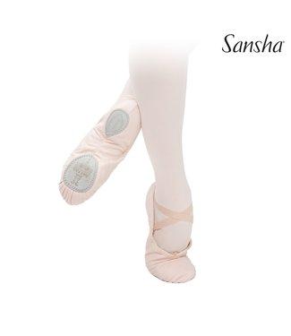 Sansha Sansha 3C Adult Split Sole Ballet Shoe - Pink