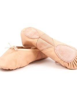 Leos Dancewear Leos Split Sole Leather Ballet Shoe Size 3 M
