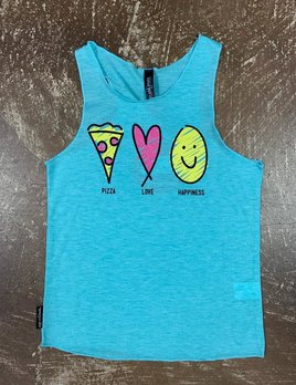 Sugar and Bruno Sugar and Bruno Pizza Tank Itty Bitty D8611
