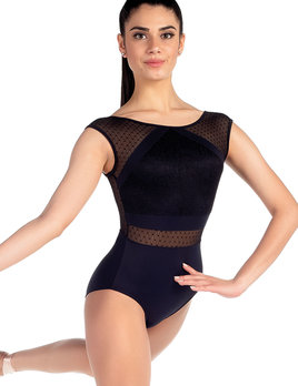 So Danca So Danca Tween Mesh Cap Sleeve Leo L-2071