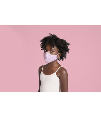 Bloch Bloch B-Safe Printed Mask W/Lanyard Kids and Adult