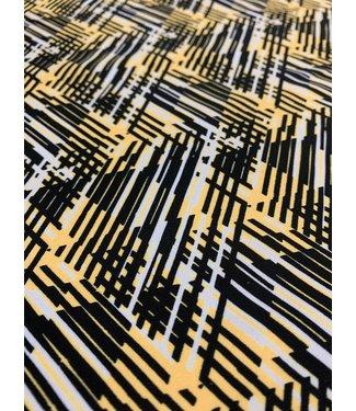 Hyperactive Yellow/Black Print