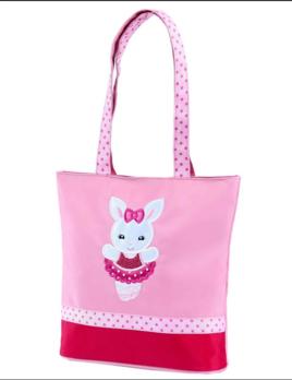 Sassi Designs Sassi Designs Ballerina Bunny Tote BNY-01