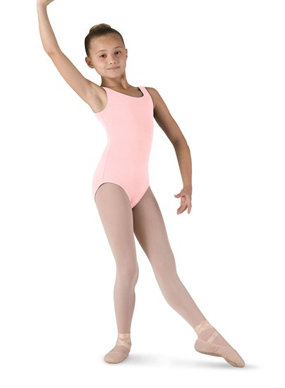a3a6fec331db Bloch Girls Tank Leotard CL54025 - Black and Pink Dance Supplies, Tulsa