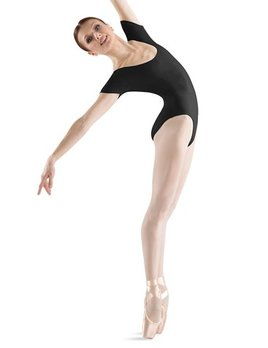 Bloch BLOCH SHORT SLEEVE LEOTARD (TALL) L5402T