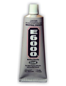 Rhinestones Unlimited E6000 1 oz. Glue