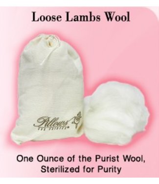 Pillows for Pointes Pillows For Pointes Loose Lambs Wool