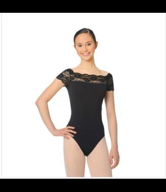 So Danca So Dance Lace Cap Sleeve Leo SL16