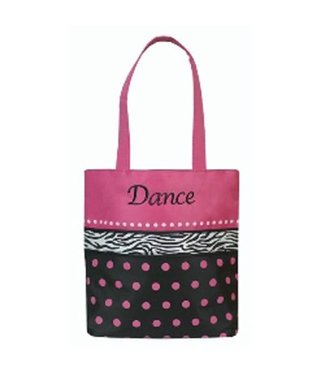 Sassi Designs Dot N Zebra Tote by Sassi Designs