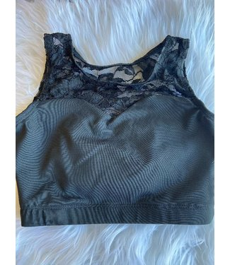 BP Designs BP Designs Dainty Lace Sweetheart Top 84336