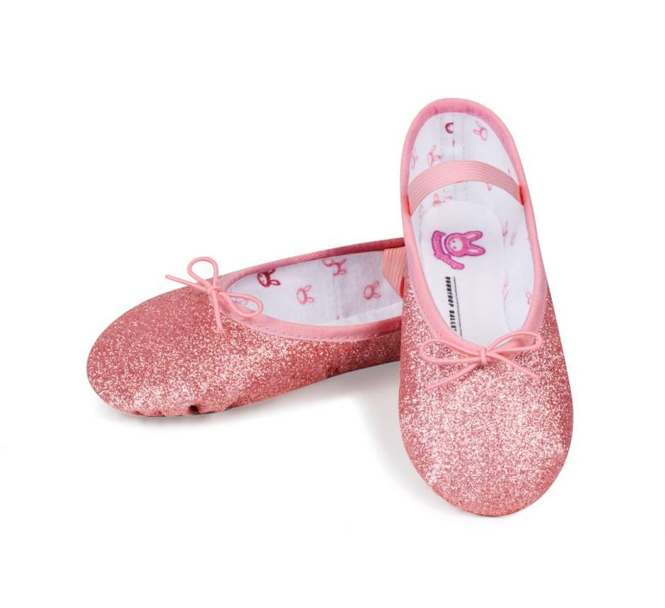 e728f8473 Bloch Bunnyhop Glitter Ballet Shoe - Black and Pink Dance Supplies, Tulsa