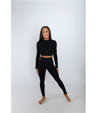BP Designs BP Designs Turtleneck Crop Top 84114