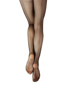 Capezio Capezio® Basic Fishnet Tight w/Seams 3408C (8-12)