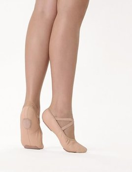 So Danca So Danca Split Sole Leather Ballet Shoe SD60