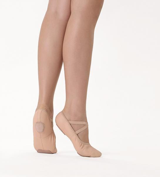 So Danca Split Sole Leather Ballet Shoe
