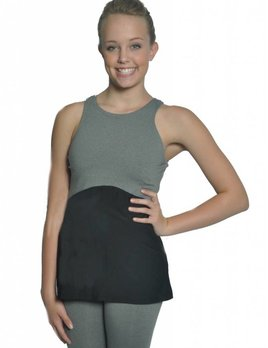 BP Designs BP Designs Eclon Gray Open Back Long Tank Adult 74316