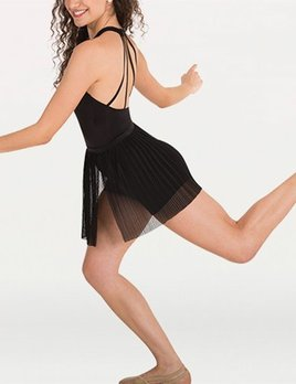 Body Wrappers Body Wrappers Pleated Dance Skirt