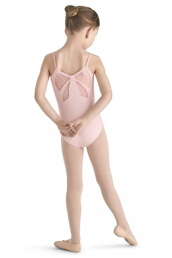 a074c2959 MIRELLA BOW BACK CAMI LEOTARD M344C - Black and Pink Dance Supplies ...