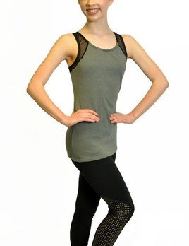 BP Designs BP Designs Mesh Side Long Top 84314T