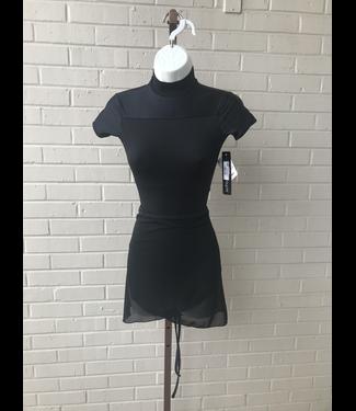 BP Designs BP Designs Black Mesh Wrap Skirt 32001