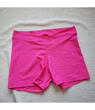 BP Designs BP Designs V Waist Short Neon Pink Matte 87506