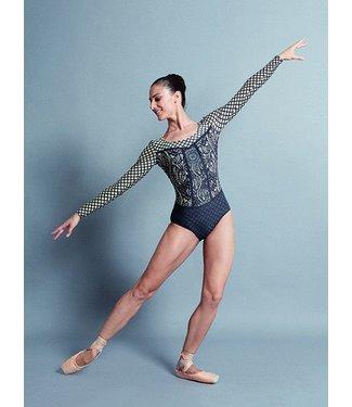 Ballet Rosa Ballet Rosa Lyman Longsleeve Ornamental Leotard