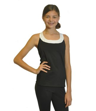 BP Designs BP Designs Three Strap Drape Back Team Top 84316