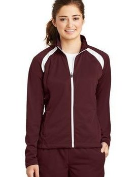 Sanmar SanMar Ladies Track Jacket LST90