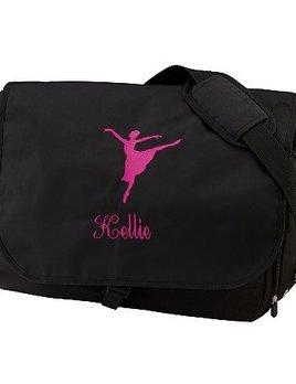 Augusta Sportswear Augusta Sportwear Black Sidekick Bag 512