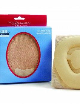 Capezio Bunheads® Gel Knee Pads - Large BH1651