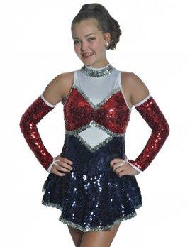 BP Designs BP Designs Drumroll Drill Skater Dress 89312