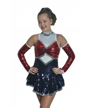 BP Designs BP Designs Drumroll Drill Skater Dress 89312