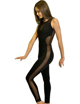 BP Designs BP Designs Mesh Side Sweetheart Unitard 76315