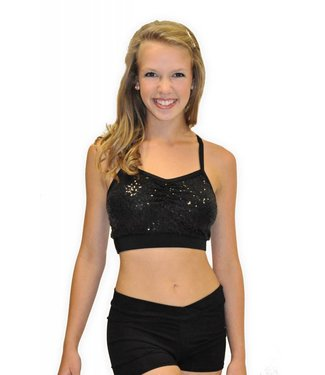 BP Designs BP Designs Adult Sequin Bra Top 04109