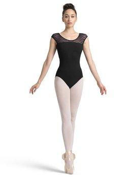 2c7e1b0a79 SHORT SLEEVE LEOTARDS - Black and Pink Dance Supplies