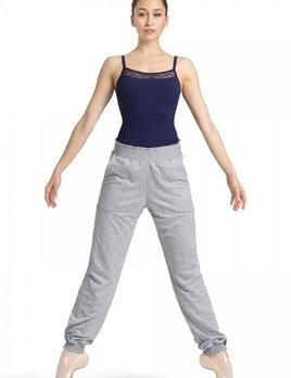 BP Designs Mirella Shirred Waist Hemmed Pant M6036L