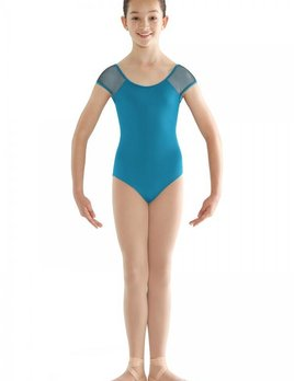 Bloch Bloch Panelled Back Cap Sleeve Leotard CL9512