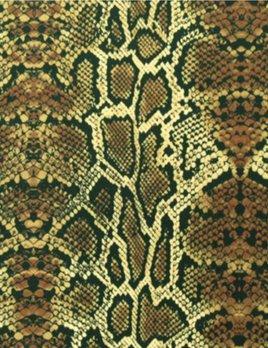 SPANDEX HOUSE Stretch Snake Printed Fabric
