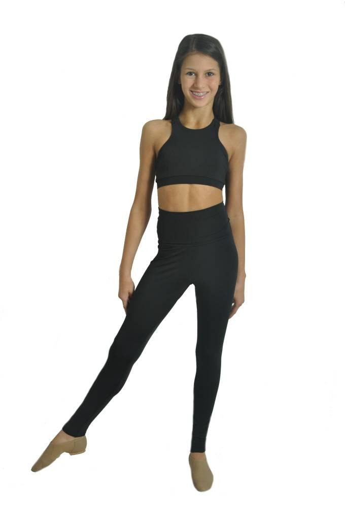 2ee3fdf50a5326 BP High Waist Legging - Black and Pink Dance Supplies, Tulsa