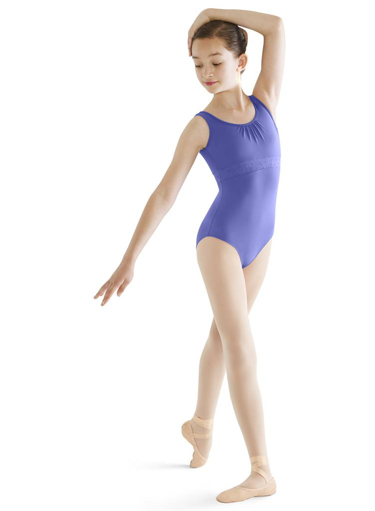 5c6b782f767a Bloch Anglaise Tank Leotard CL9545 - Black and Pink Dance Supplies, Tulsa
