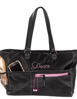 129c96de9c Teen Dance Bags - Black and Pink Dance Supplies