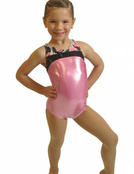 ace2a2890605 GYMNASTIC LEOTARDS - Black and Pink Dance Supplies, Tulsa