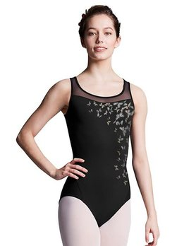 Bloch Bloch Mesh Cross Over Open Back Leotard L8155