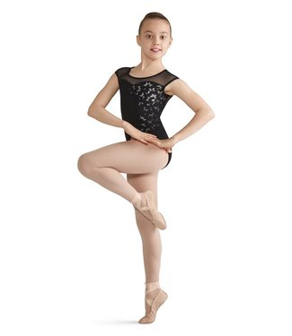 Bloch Bloch Printed Sweetheart Cap Sleeve Leotard CL8232