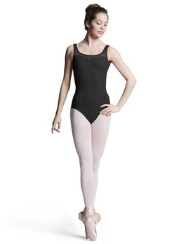 Bloch Bloch Sweetheart Flower Mesh Tank Leotard L8895