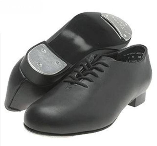 79ad38e54834 Capezio Tapster Tap Shoe 442 - Black and Pink Dance Supplies
